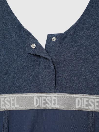 Diesel - UFTEE-TOPCUT-DN, Azul - Camisetas - Image 4