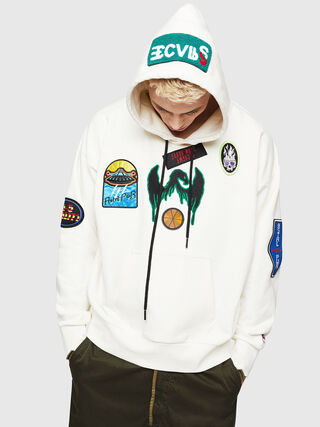 S-ALBY-PATCHES,  - Sudaderas