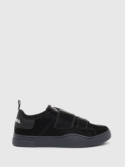 Diesel - S-CLEVER LOW STRAP W, Negro - Sneakers - Image 1