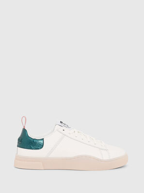 S-CLEVER LOW LACE W, Blanco/Verde - Sneakers