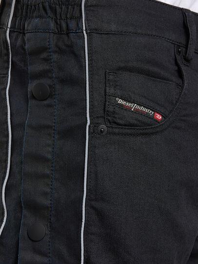 Diesel - Krooley JoggJeans 0KAYO, Negro/Gris oscuro - Vaqueros - Image 3
