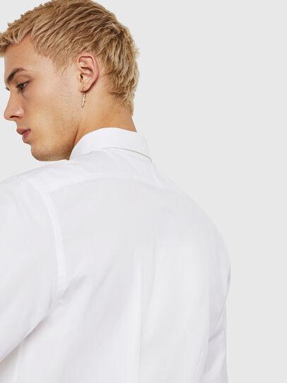 Diesel - S-BILL, Blanco - Camisas - Image 4