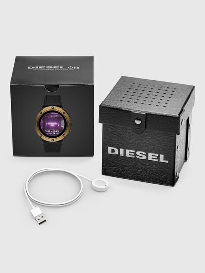 Diesel - DT2016, Negro/Bronce - Smartwatches - Image 5