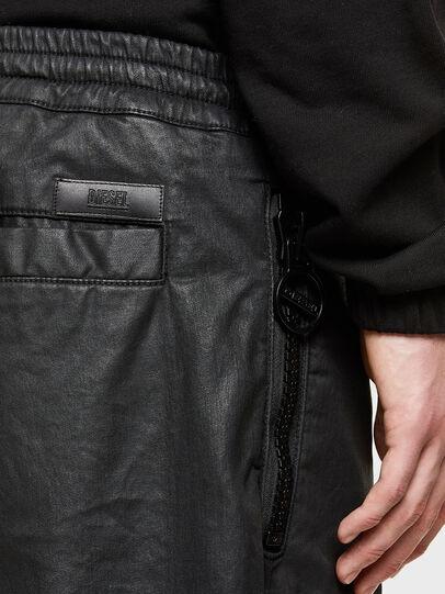 Diesel - D-HORTY-SP JOGGJEANS, Negro - Shorts - Image 3