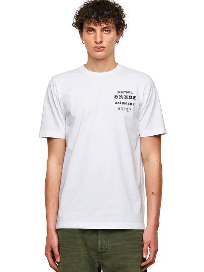 Diesel - T-JUST-B59, Blanco - Camisetas - Image 1