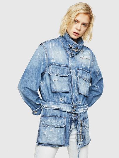 Diesel - DE-MERYL, Blue Jeans - Chaquetas de denim - Image 1