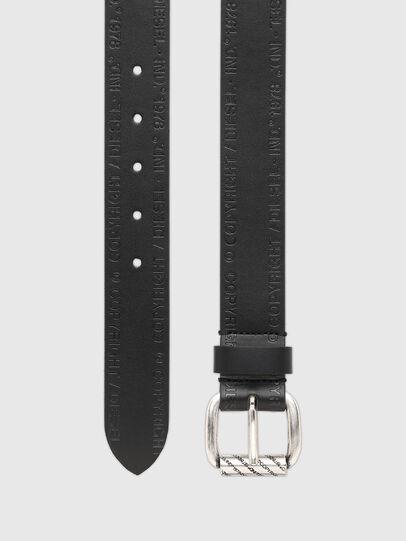 Diesel - B-FULCOPY, Negro - Cinturones - Image 3