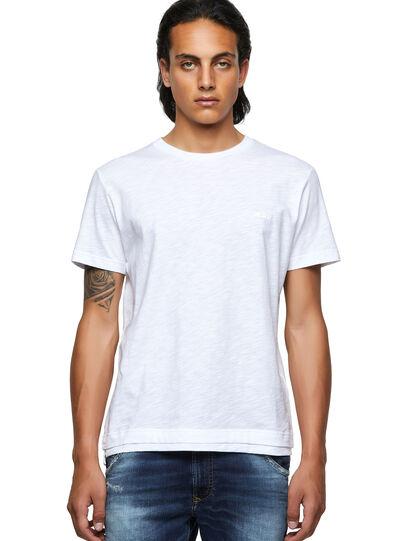 Diesel - T-RONNIE, Blanco - Camisetas - Image 1