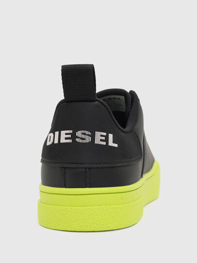 Diesel - S-CLEVER LOW LACE, Negro/Amarillo - Sneakers - Image 4