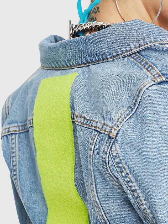 Diesel - DE-ZAUPY-C, Blue Jeans - Chaquetas de denim - Image 4