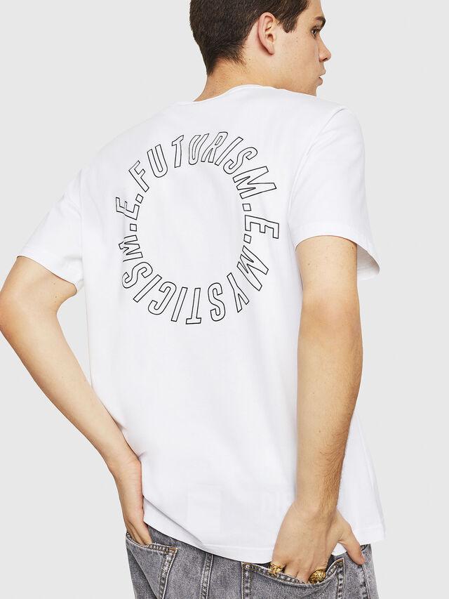 Diesel - T-JUST-Y19, Blanco - Camisetas - Image 2