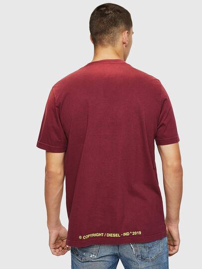 Diesel - T-DIKEL, Burdeos - Camisetas - Image 2