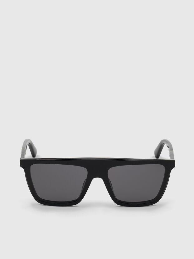 DL0323, Negro Brillante - Gafas de sol