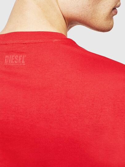 Diesel - T-DIEGO-J1, Rojo - Camisetas - Image 4