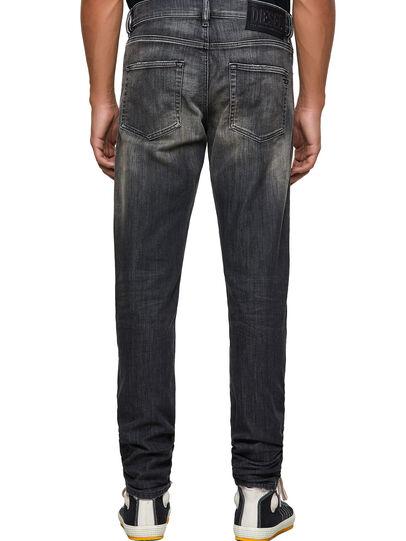 Diesel - D-Strukt JoggJeans® 09B54, Negro/Gris oscuro - Vaqueros - Image 2