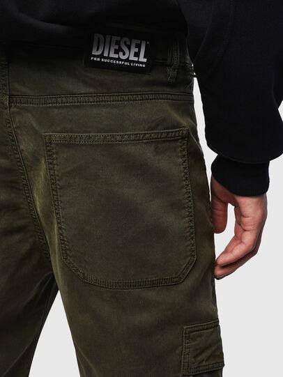 Diesel - D-Krett JoggJeans® 069LX, Verde Militar - Vaqueros - Image 3