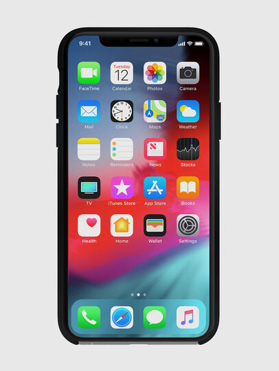 Diesel - DIESEL PRINTED CO-MOLD CASE FOR IPHONE XS & IPHONE X, Negro - Fundas - Image 4