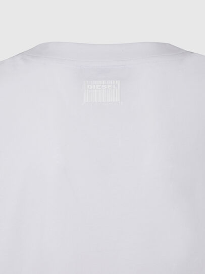 Diesel - T-RASSEL, Blanco - Camisetas - Image 4