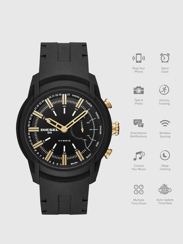 Diesel - DT1014, Negro - Smartwatches - Image 1