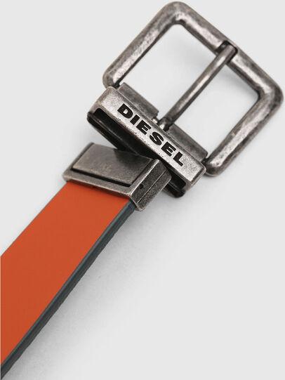 Diesel - B-DOUBLEX, Gris - Cinturones - Image 4