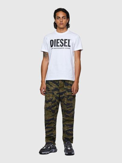 Diesel - T-DIEGOS-ECOLOGO, Blanco - Camisetas - Image 4