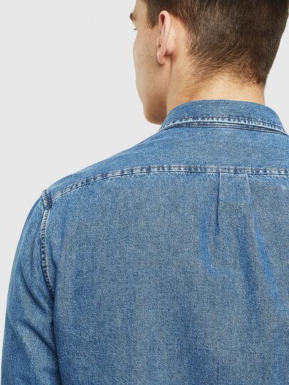 Diesel - D-BER-P, Blue Jeans - Camisas de Denim - Image 5
