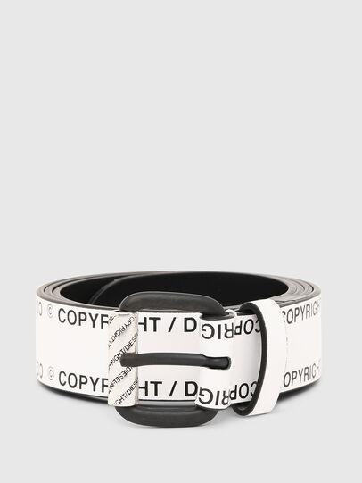 Diesel - B-FULCOPY, Blanco/Negro - Cinturones - Image 1