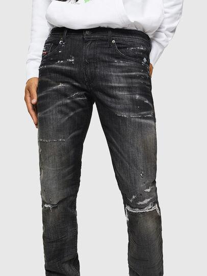 Diesel - Thommer JoggJeans 0098E, Negro/Gris oscuro - Vaqueros - Image 3