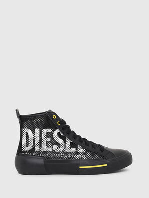 S-DESE MID CUT, Negro/Amarillo - Sneakers