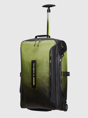 KA2*69009 - PARADIVE, Negro/Amarillo - Bolsas de viaje con ruedas