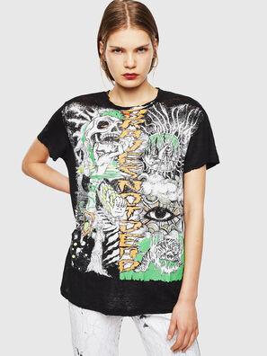T-DARIA-YB, Negro - Camisetas