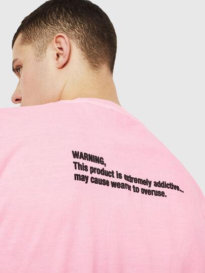 Diesel - T-JUST-NEON, Rosa - Camisetas - Image 7
