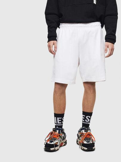Diesel - P-BOXIER, Blanco - Shorts - Image 1