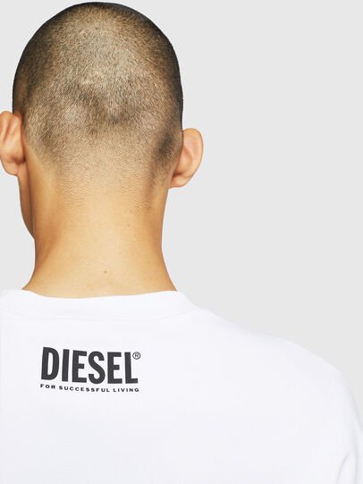 Diesel - S-BAY-BX4, Blanco - Sudaderas - Image 6