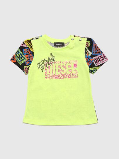 Diesel - TAIRB, Verde Fluo - Camisetas y Tops - Image 1