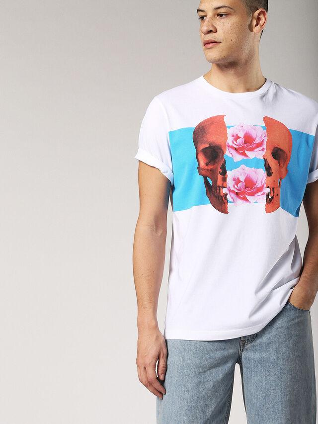 Diesel - T-JUST-SW, Blanco - Camisetas - Image 3