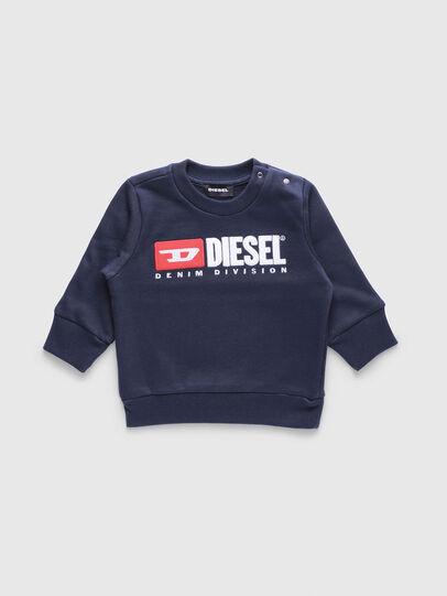 Diesel - SCREWDIVISIONB, Azul Marino - Sudaderas - Image 1