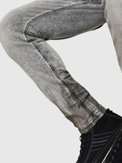 Diesel - Krooley JoggJeans 0091H, Gris Claro - Vaqueros - Image 6