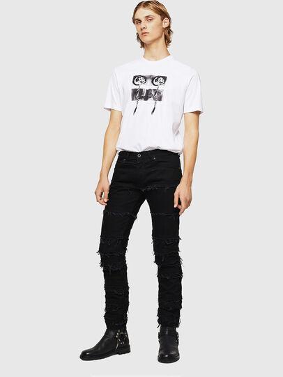 Diesel - TY-X1, Blanco - Camisetas - Image 5