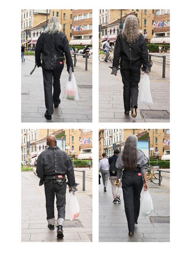 Diesel - GMPT01, Black Jeans - Pantalones - Image 4