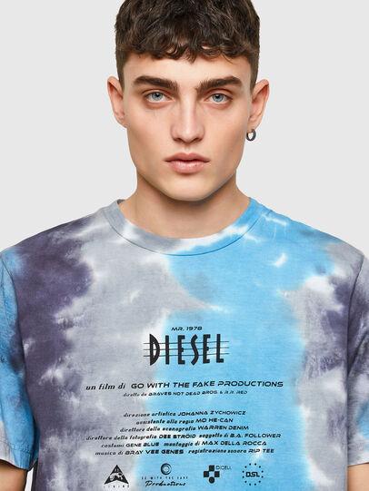 Diesel - T-JUST-E13, Gris/Azul marino - Camisetas - Image 3