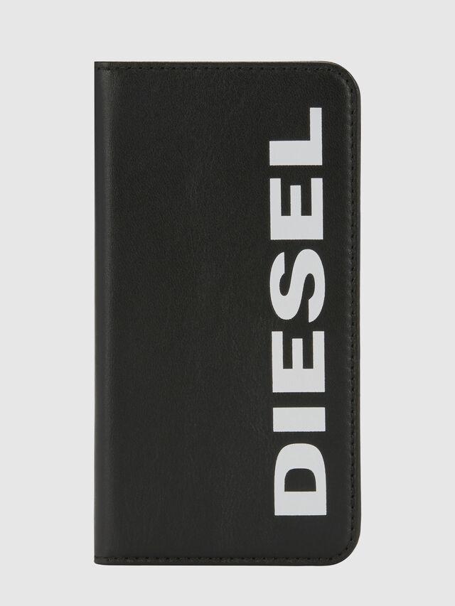 Diesel - SLIM LEATHER FOLIO IPHONE 8/7, Negro - Fundas tipo libro - Image 6