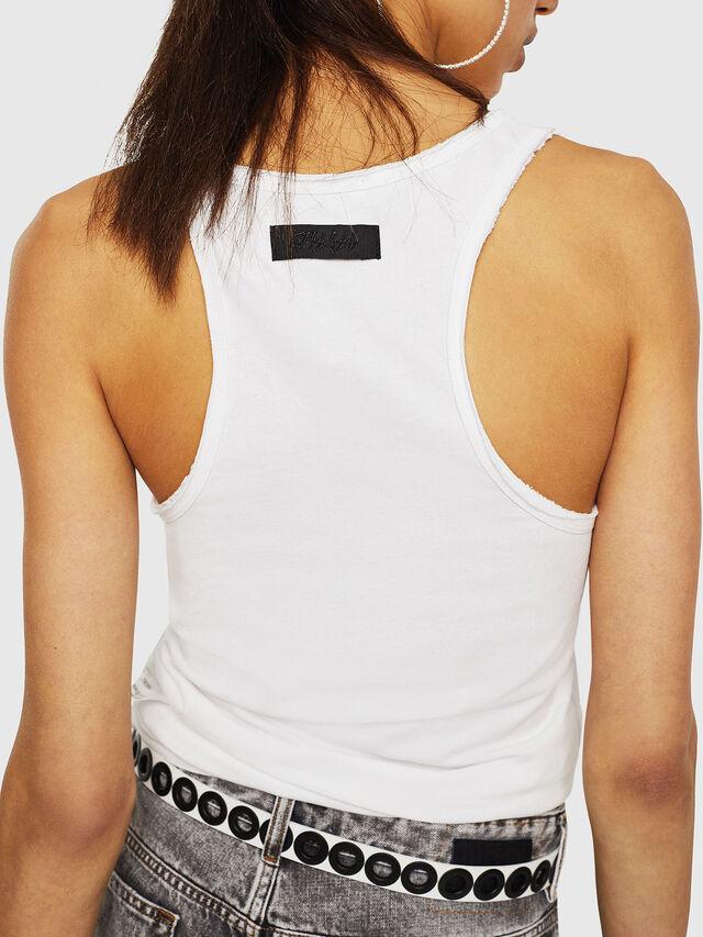 Diesel - T-KARY-A, Blanco - Camisetas - Image 2