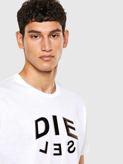 Diesel - T-DIEGOS-A1, Blanco - Camisetas - Image 3