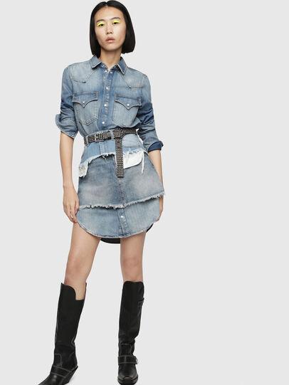 Diesel - DE-DESY-P, Blue Jeans - Vestidos - Image 4