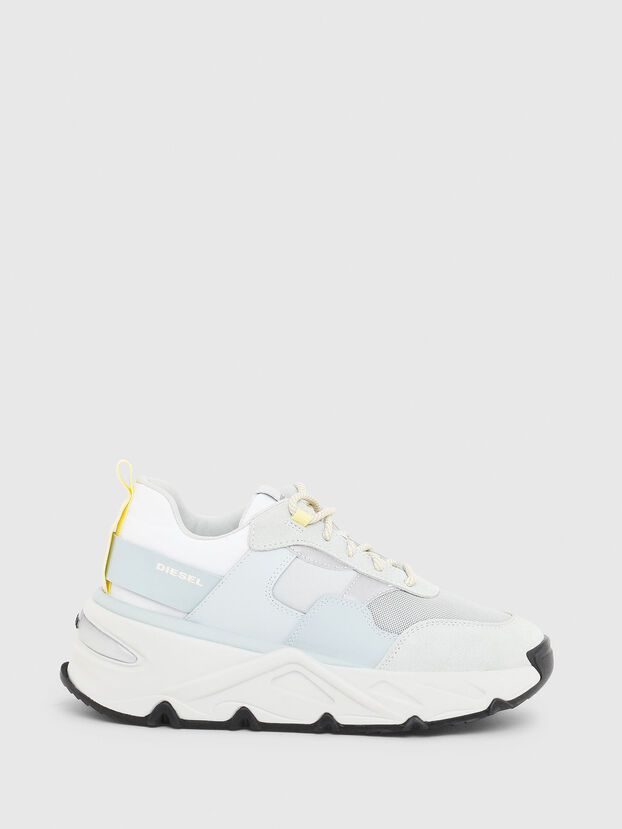 S-HERBY LOW, Blanco/Azul - Sneakers