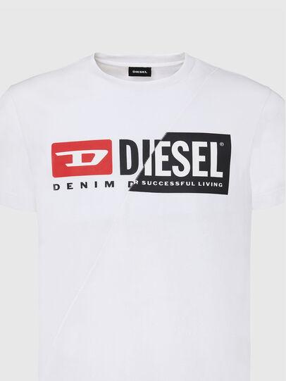 Diesel - T-DIEGO-CUTY, Blanco - Camisetas - Image 3