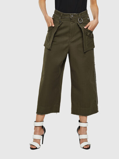 Diesel - P-RAEY, Verde Militar - Pantalones - Image 1