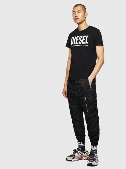 Diesel - T-DIEGO-LOGO, Negro - Camisetas - Image 7