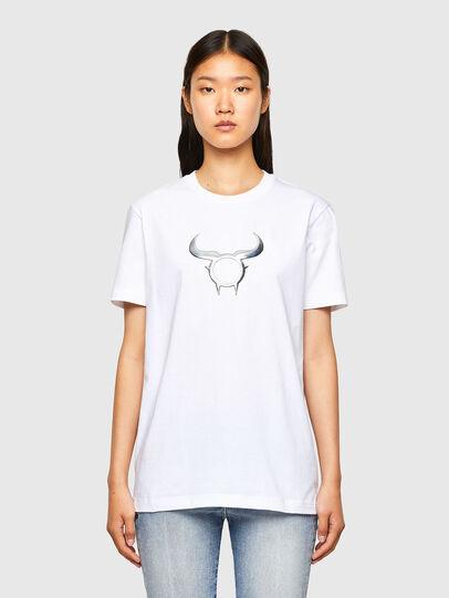 Diesel - CL-T-DIEGOS-O2, Blanco - Camisetas - Image 2